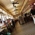 Metro Diner Interior @Rob Boudon