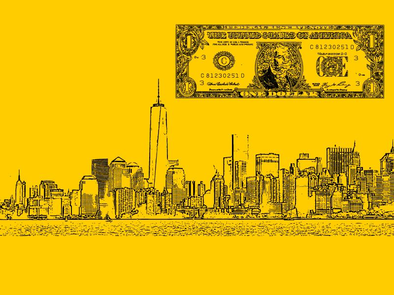Nova York com pouco dinheiro
