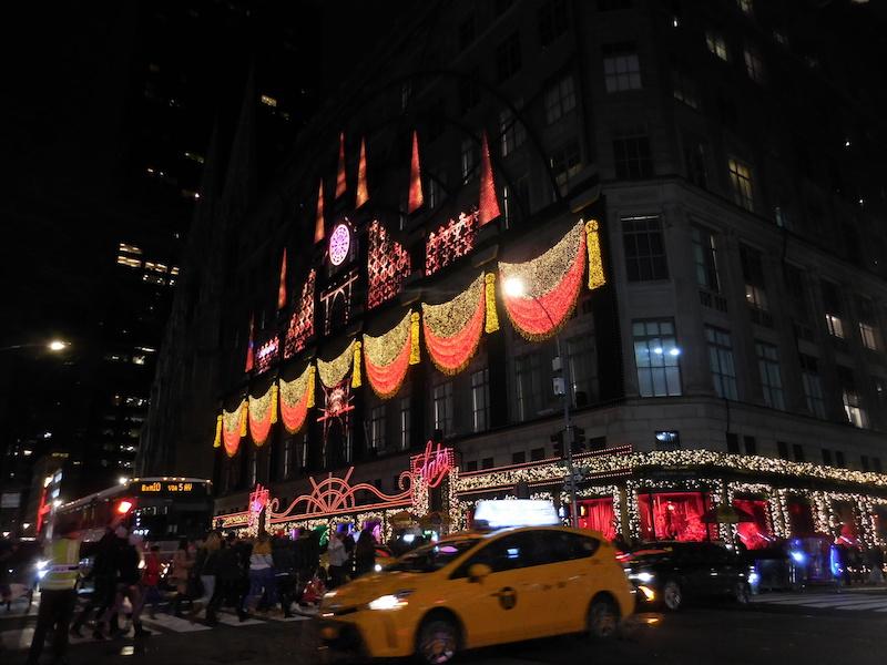 Show de Luzes de Natal – Saks Fifth Ave