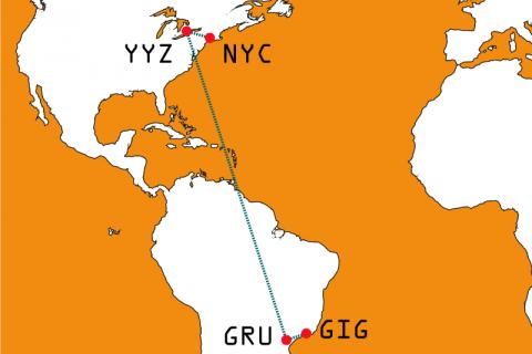 RIO-NYC com AirCanada 2018